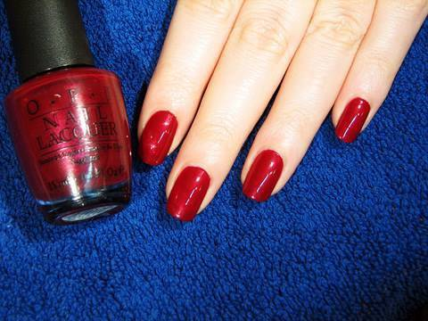 manicure - How to attain that perfect, salon style manicure on natural nails at home! Nailpolish used: OPI Bastille My Heart (France Collection) Where to buy nail polis...