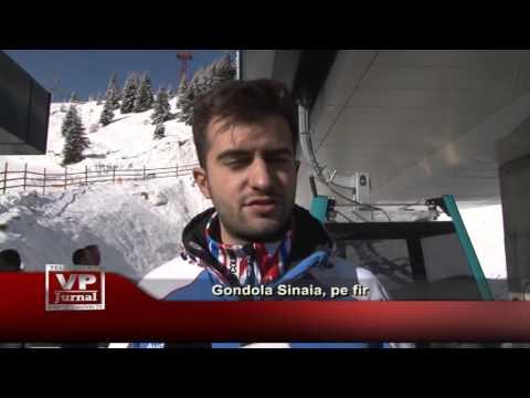 Gondola Sinaia, pe fir