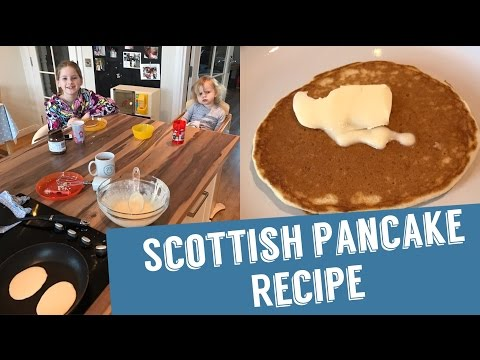 Scottish Pancake Recipe | Pancake Day | Shrove Tuesday