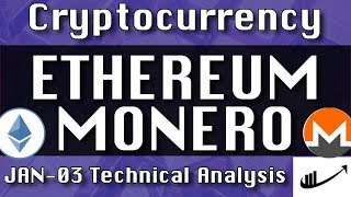 Jan-03 ETHEREUM : MONERO Update CryptoCurrency Technical Analysis Chart
