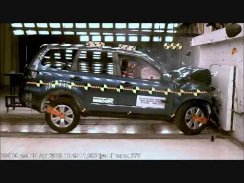 Subaru forester crash test
