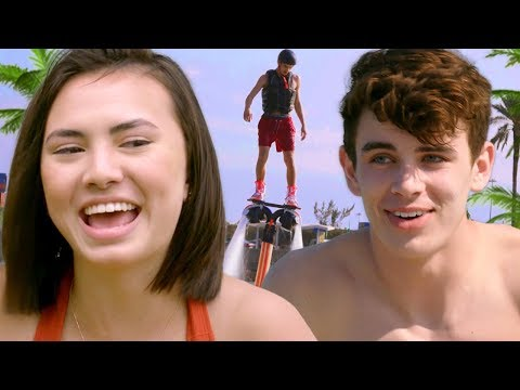 Miami FLYBOARD Challenge w/ Haley Pham & Hayes Grier | The Carpe Challenge: Miami