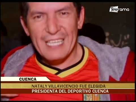 Nataly Villavicencio fue elegida presidenta del Deportivo Cuenca