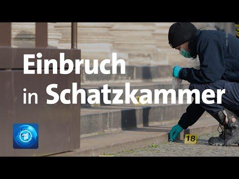 Dresden: Einbruch in das »Grüne Gewölbe«