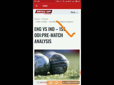 ENG VS IND 2nd ODI  MATCH DREAM 11 TEAM 14TH july India vs england billu mama
