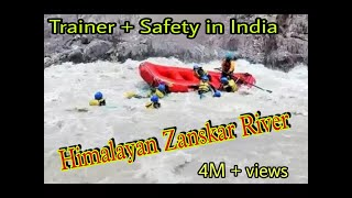 Download Video Ladakh Raft flip and Rescue |Salute to Trainer |River Rafting in Leh Ladakh - Toughest in India MP3 3GP MP4