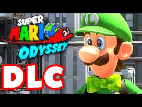 Super Mario Odyssey - Gameplay Walkthrough Part 37 - Luigi's Balloon World DLC! (Nintendo Switch) (видео)