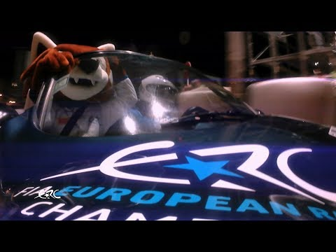 Azores Airlines Rallye 2018 - Craig Breen & Percy make the city show!!
