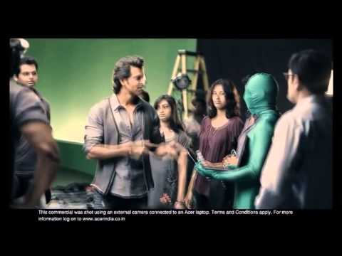 Video Hrithik Roshan - Acer Laptop Beyond the Obvious HD download in MP3, 3GP, MP4, WEBM, AVI, FLV January 2017