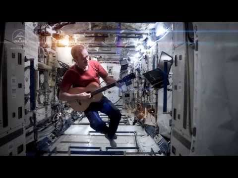 Music - A revised version of David Bowie's Space Oddity, recorded by Commander Chris Hadfield on board the International Space Station.