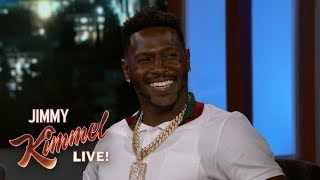 Video Antonio Brown on Tom Brady, Madden Cover & His Kids MP3, 3GP, MP4, WEBM, AVI, FLV Agustus 2018