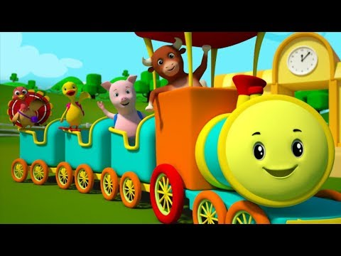 Rig a Jig Jig | Rig a Jig Jig For Children | Rig A Jig Jig Rhyme For Children by Farmees