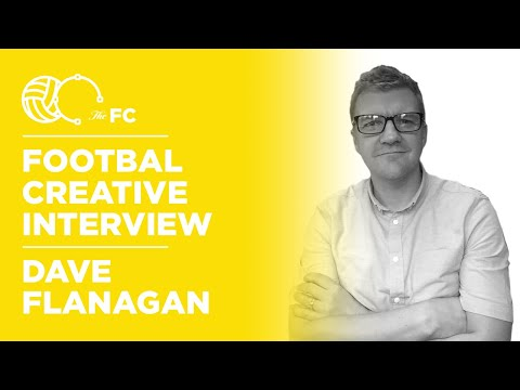 Dave Flanagan - Football Fan To Working With Arsenal, Chelsea & Juventus \\ Ep. 97 Creative Waffle