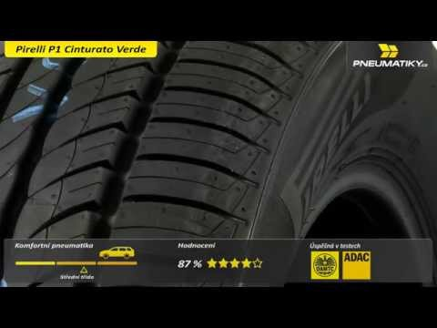 Youtube Pirelli P1 Cinturato Verde 195/60 R15 88 V Letní