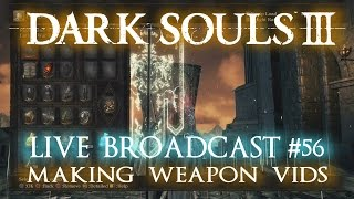 Just a quick live commentary while making some weapon vids for Dark Souls 3. Figured for all the videos I have made, it would be nice to have a behind the scenes sneak peek.Heres the final result! https://youtu.be/x0rb5tefSzUSubscribe for more live gaming! http://www.youtube.com/user/ZOMBIEHEADZoCOM?sub_confirmation=1