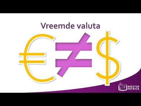 Vreemde valuta   Bedrijfseconomie