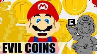 """How to Make a """"Don't Touch the Coins"""" Level in Super Mario Maker!"""