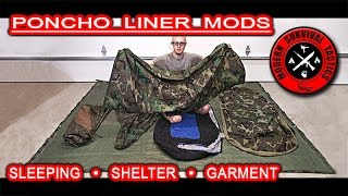 """The modifications we did with a poncho liner (Woobie). Now, it can be attached to a Bivy cover, sleeping bag or even tarp. It can be also wear as a vest or a garment. Thanks to the """"Gypsy Stud"""" snaps there are many other possibilities how this liner can be used or attached. A great equipment became even more perfect!------------------------------------------------------------------------------------------------------FOR MUCH MORE VISIT:http://www.modernsurvivaltactics.comhttp://www.store.modernsurvivaltactics.comhttps://www.google.com/+MODERNSURVIVALTACTICS"""