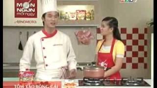 VO HOANG NHAN - TOM XAO BONG CAI - MON NGON MOI NGAY HTV7