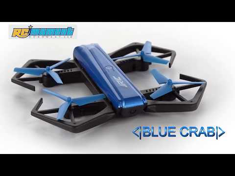 Original JJRC H43WH CRAB WIFI FPV 720P HD Camera Mini RC Selfie Drone RM8782 (видео)
