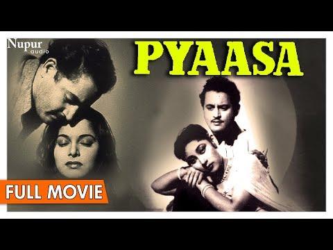 Pyaasa 1957 Full Movie | Guru Dutt , Mala Sinha, Waheeda Rehman | Bollywood Classic Movies