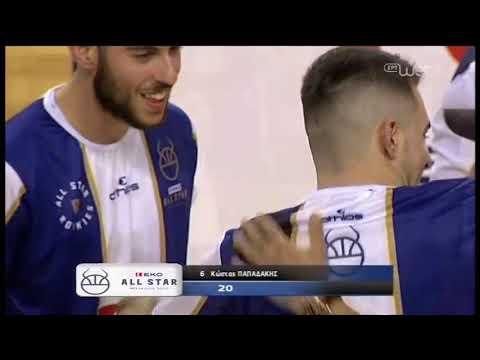 All Star Game | Παπαδάκης, Μωραΐτης και Χατζής στον διαγωνισμό τριπόντων! | 08/02/2020 | ΕΡΤ