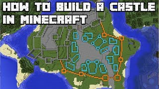How to Build an Awesome Castle in Minecraft 1.13 Vanilla [WORLD DOWNLOAD]