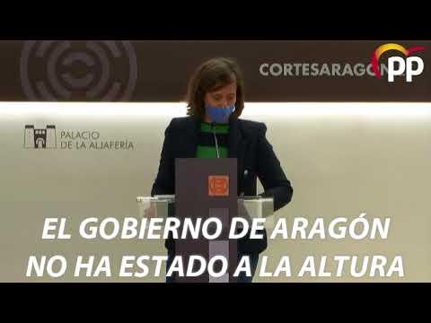 """Orós: """"Con la dependencia, a Lambán se le ha caído la 's' de social"""""""