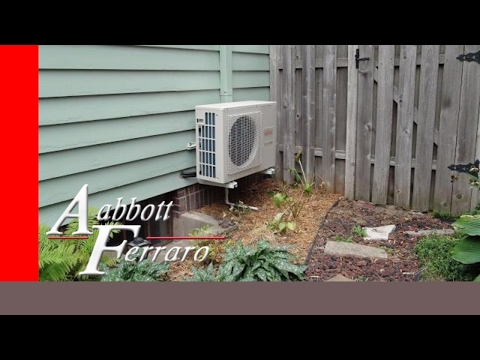 Ductless Mini Split Heat Pump / Central Air Conditioning