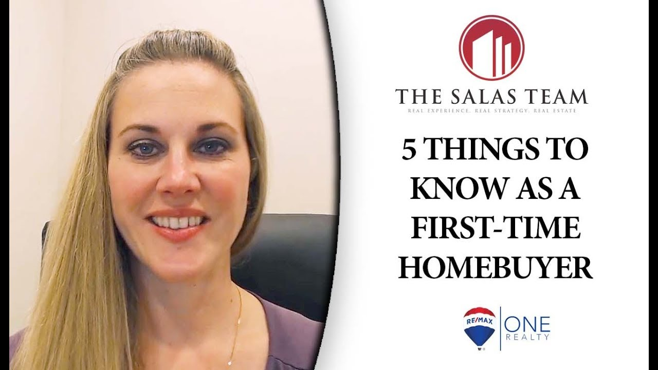 5 Things You Should Know as a First-Time Homebuyer