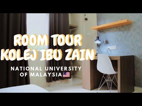 ROOM TOUR KOLEJ IBU ZAIN // National University of Malaysia (UKM Malaysia)