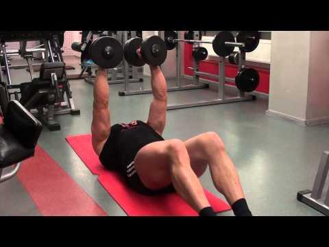 Грудь мышцы тренировка видео