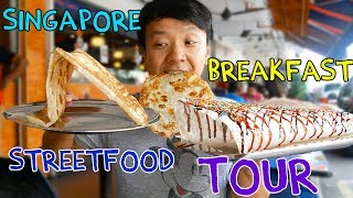 Video MIND BLOWING Singapore BREAKFAST Street Food Tour! MP3, 3GP, MP4, WEBM, AVI, FLV November 2018