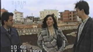 Rahmetli Ayşe Tezel sağlık ocağı bahçesini ağaçlandırdı