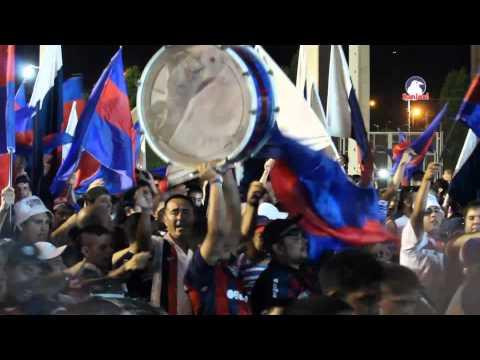 Video - Espectacular entrada hinchada de San Lorenzo   Final Recopa 2015 - La Gloriosa Butteler - San Lorenzo - Argentina