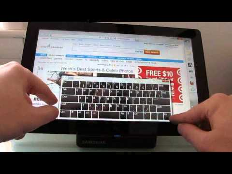 Samsung Series 7 Slate PC video review