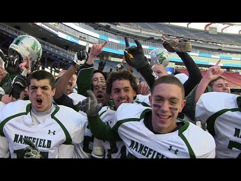 Mansfield's Miguel Villar-Perez talks about his team's Division 2 Super Bowl win over St. John's