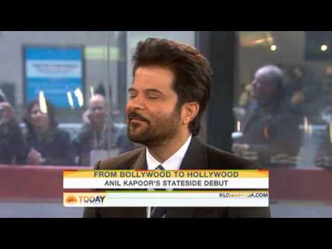 Anil Kapoor interviewed on MSNBC's Today Show