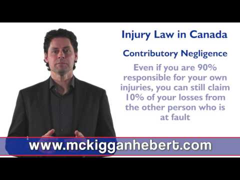 Can I recover compensation if the accident was my fault? No Fault & Contributory Negligence Claims