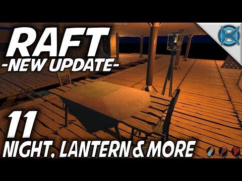 Raft | EP 11 | Night, Lantern & More | Let's Play Raft Gameplay (S-1)