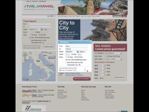 Train Ticket from Rome to Florence