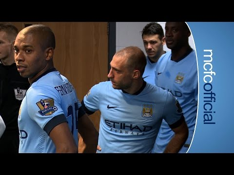 Video: TUNNEL CAM | City 2-1 Swansea