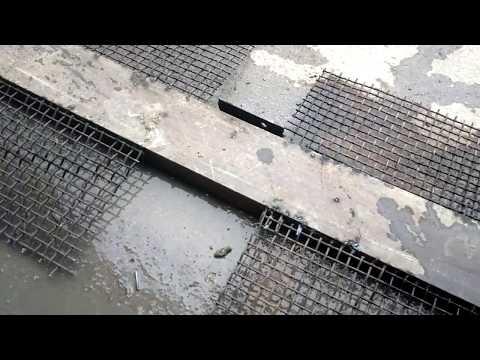 Как сделать бетонный лежачий полицейский