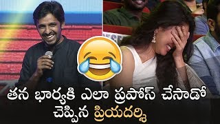 Video Priyadarshi Making Hilarious Fun With Anchor Suma | Padi Padi Leche Manasu MP3, 3GP, MP4, WEBM, AVI, FLV Januari 2019