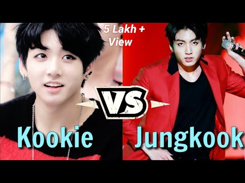 Kookie vs Jungkook  The Dual Personality