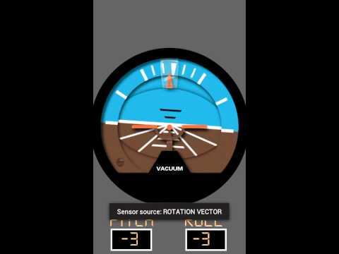 Video of Aircraft Horizon Free