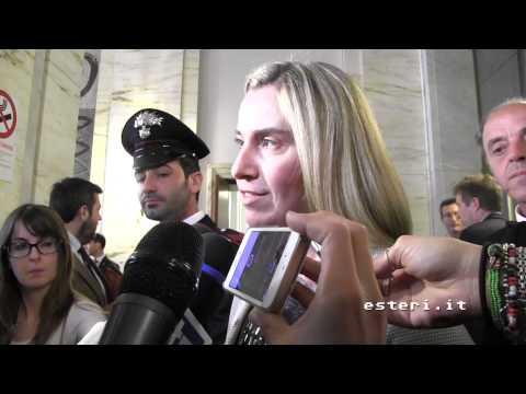 Dichiarazione del Ministro degli Esteri, Federica Mogherini sulla liberazione del connazionale Federico Motka e sul rapimento del padre Paolo Dall'Oglio