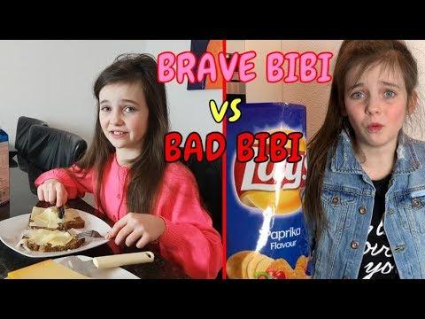 BRAVE BIBI vs BAD BIBI - SKETCH - Bibi
