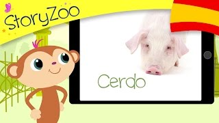 Learn which animals you can find on a farm & practice your words with a StoryZoo adventure. This video is available in multiple languages if you would like y...