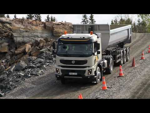 Грузовики Volvo Trucks - Journalists test drive the new Volvo FMX. Check out their response